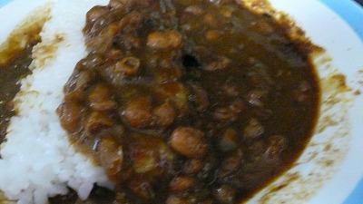 705 フクイカレー 挽肉と豆のカレー