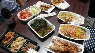 20070526 名古屋タイフェス 料理