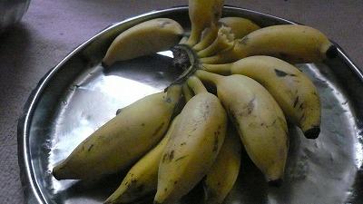 793 夕食 バナナ