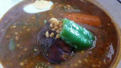 863 ハンジロー 納豆とオクラのカレー