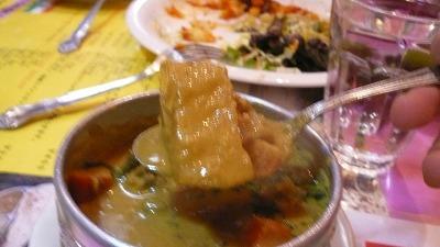 613 南インドダイニング 野菜カレー