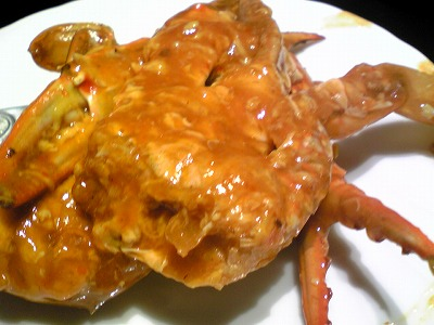 945 SingaporeSeafood Emporium チリクラブ