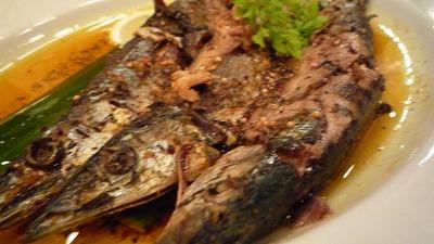 eel19 秋刀魚のスパイスグリル