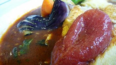 950  木多郎 ベーコンエッグ野菜カレー