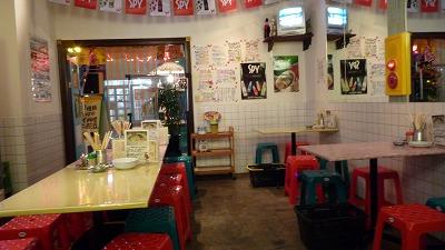 954 バンコク屋台食堂料理 店内