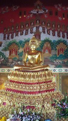 986 WatPaknam 仏像