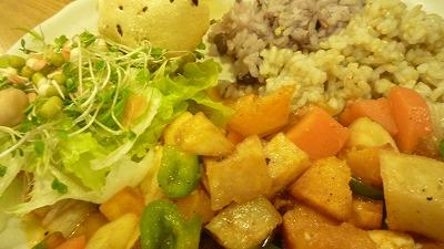 1026 GoVindas 野菜カレー