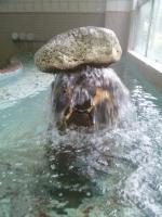 景気よく出る温泉