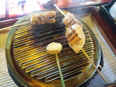 鶏炭火焼き