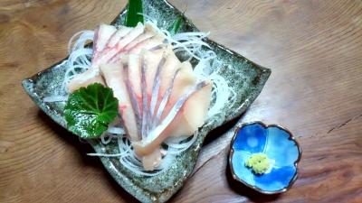 山女魚の刺身
