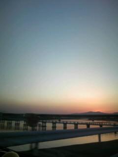 徳島の夕焼け