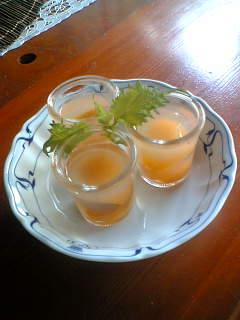 夏の和菓子【びわの錦玉】