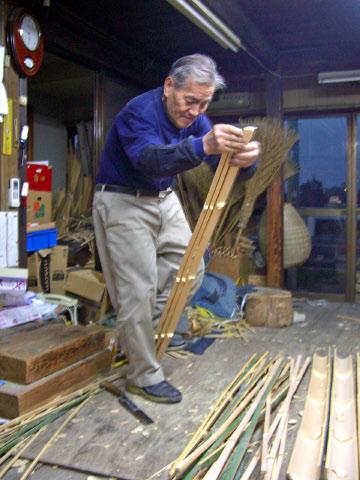 籠常(竹割り)