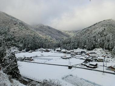 上粟野冬景色