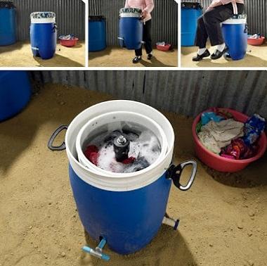 足踏み式洗濯機