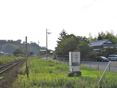 KTR木津温泉駅周辺