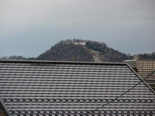雪の佐和山