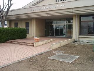 医療情報センターのフラワーポット