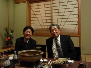 森理事長と木村副理事長