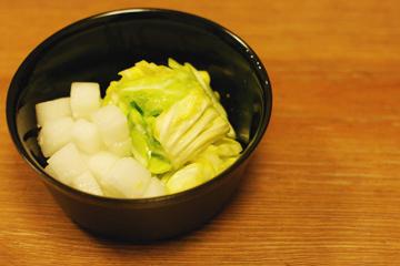 春キャベツの塩麹浅漬けfin