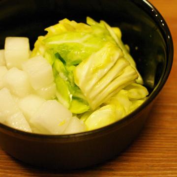 春キャベツの塩麹浅漬け