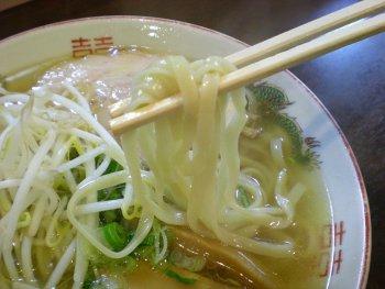 金醤油 麺アップ
