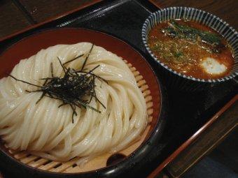 ざるチャーシュー坦々麺風