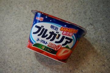 脂肪0の苺ヨーグルト