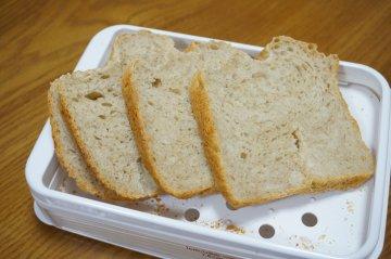 豆乳入り全粒粉パン