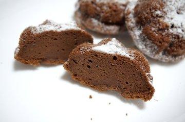 チョコチーズスフレケーキ