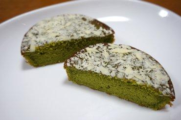 森半の宇治抹茶ケーキ