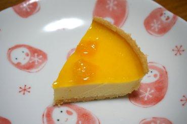 清見オレンジのチーズケーキ