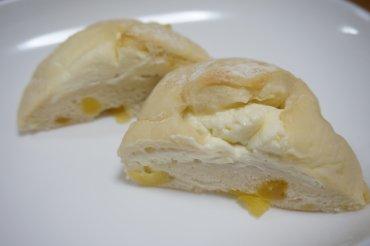 りんごとクリームチーズ