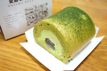 天竜抹茶とわらび餅ロール