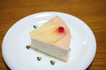 白桃とマスカルポーネのレアチーズ
