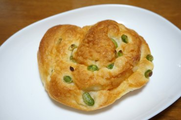 枝豆トーストロール