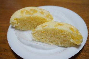 りんご蒸しパン