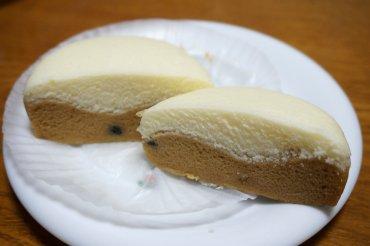 タピオカミルクティ風味蒸しケーキ