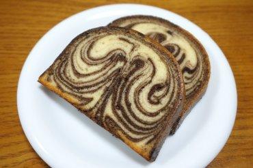 チョコのマーブルパウンドケーキ