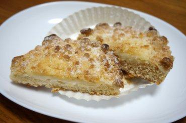りんごのクランブルチーズケーキ風ブレッド