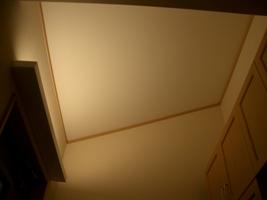 玄関の勾配天井