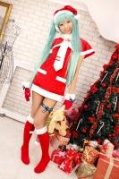 初音ミク コスプレ Project DIVA2nd クリスマス