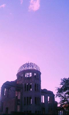 夕暮れのドーム3