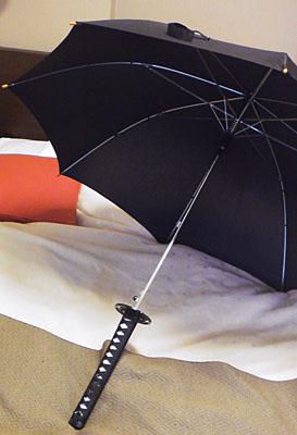 傘 オープン時