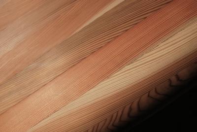 低温乾燥杉の木目