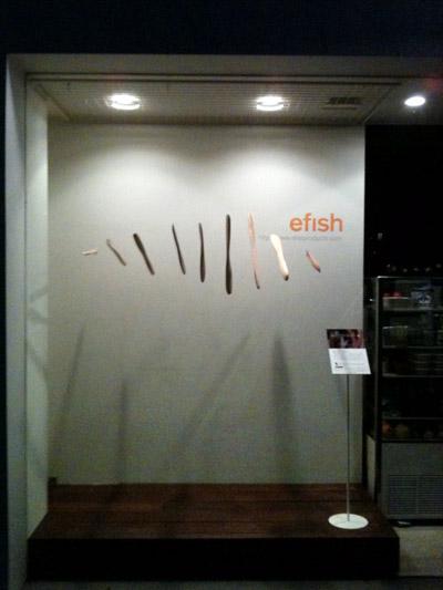 efish show window