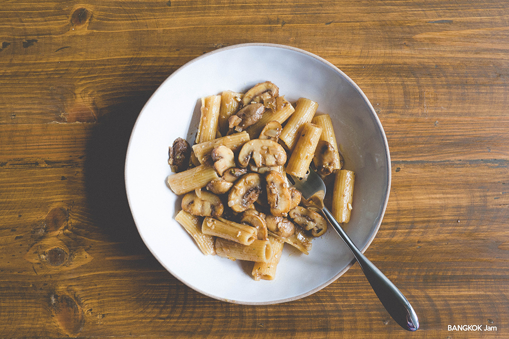 thailand mushroom pasta タイ きのこ パスタ
