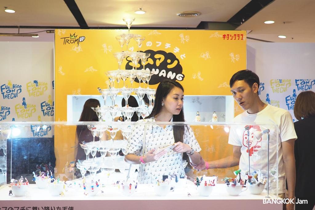 コップのフチ子とマムアン キタンクラブ ガチャガチャ タイランドトイエクスポ 2018 Thailand Toys Expo バンコク