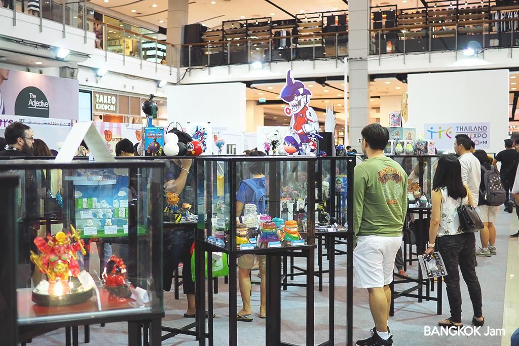 コップのフチ子 マムアン ガチャ タイランド トイ エクスポ 2018 Thailand Toy Expo バンコク
