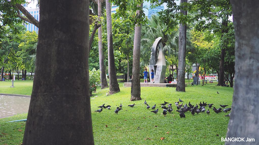 ベンチャシリ公園 バンコク ランニング Benchasiri Park Bangkok